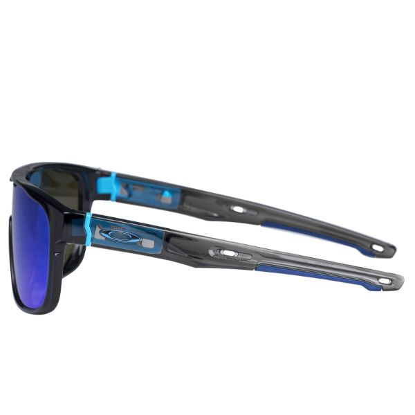 Oakley Crossrange Shield sunglasses Black Prizm Sapphire 9390-0531 Asian fit-Daily Steals
