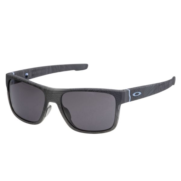 Oakley Crossrange Sunglasses Aero Grid Warm Grey 9371-0957 Cross Asian Fit-Daily Steals