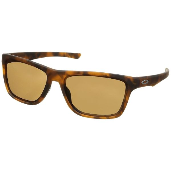 Oakley Holston Sunglasses Matte Brown Tortoise Prizm Tungsten Lens 9334-10-Daily Steals