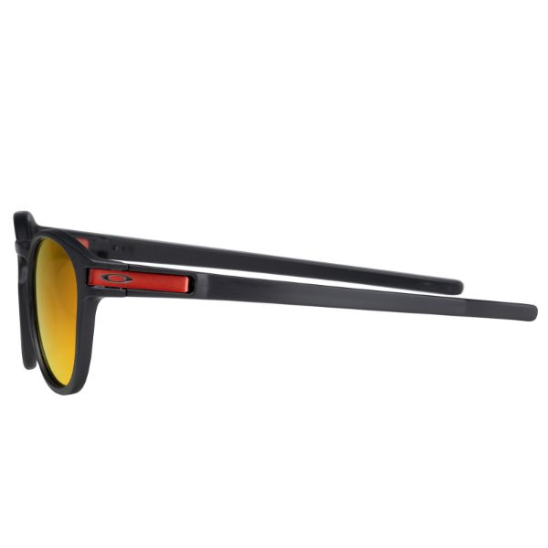 Oakley Latch Sunglasses Matte Black Prizm Ruby OO9265-29-Daily Steals