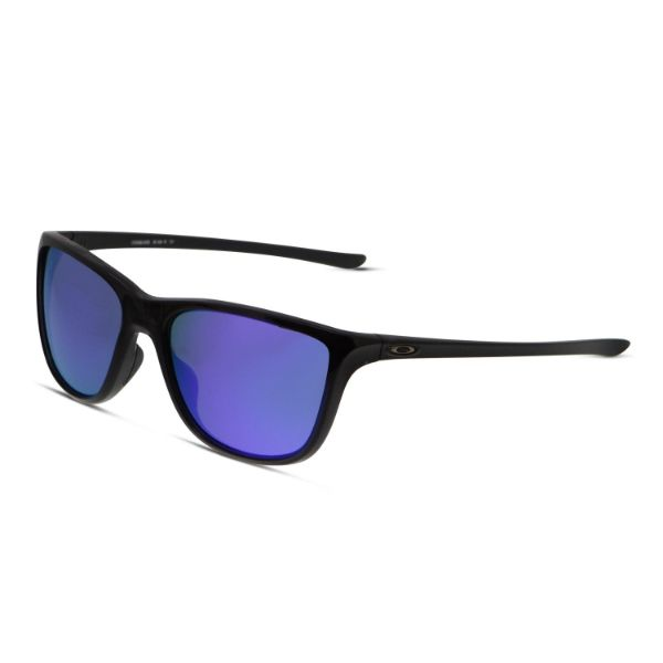 Oakley Reverie Sunglasses Polished Black Grey 9362-01-Daily Steals