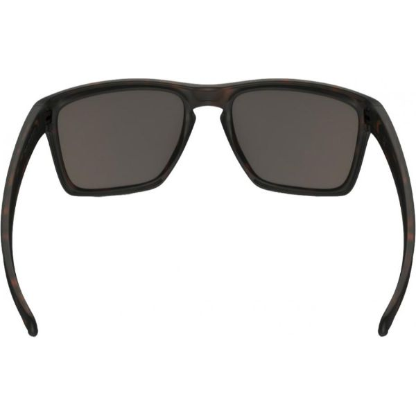 Oakley Silver XL OO9341-04 Sunglasses Matte Brown Tortoise Warm Grey Lens-Daily Steals