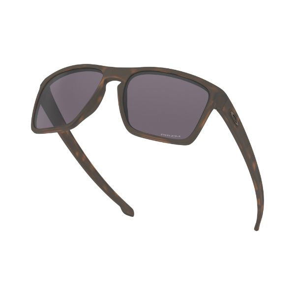 Oakley Silver XL Sunglasses Matte Brown Toritoise Prizm Grey 9341-26-Daily Steals