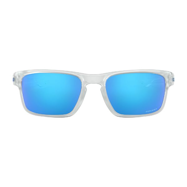 Oakley Sliver Stealth OO9408-04 Sunglasses Matte Clear Prizm Sapphire-Daily Steals
