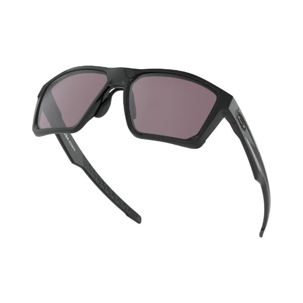 Oakley Targetline Asian Fit Sunglasses Black Prizm Grey 9398-0158-Daily Steals
