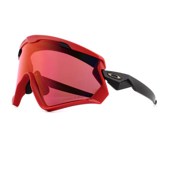 Oakley Wind Jacket 2.0 Sunglasses Viper Red Prizm Snow Torch 9418-0645-Daily Steals