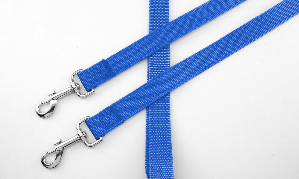 No-Tangle Two Dog Pet Leash-Dark Blue-Daily Steals