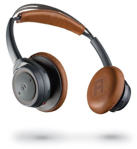 update alt-text with template Daily Steals-Plantronics BackBeat SENSE SE - Splashproof Coating Bluetooth Wireless Headphones-Headphones-