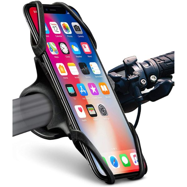 Okra Silicone Phone Mount for Bicycle & Motorcycle-1-Pack-Daily Steals