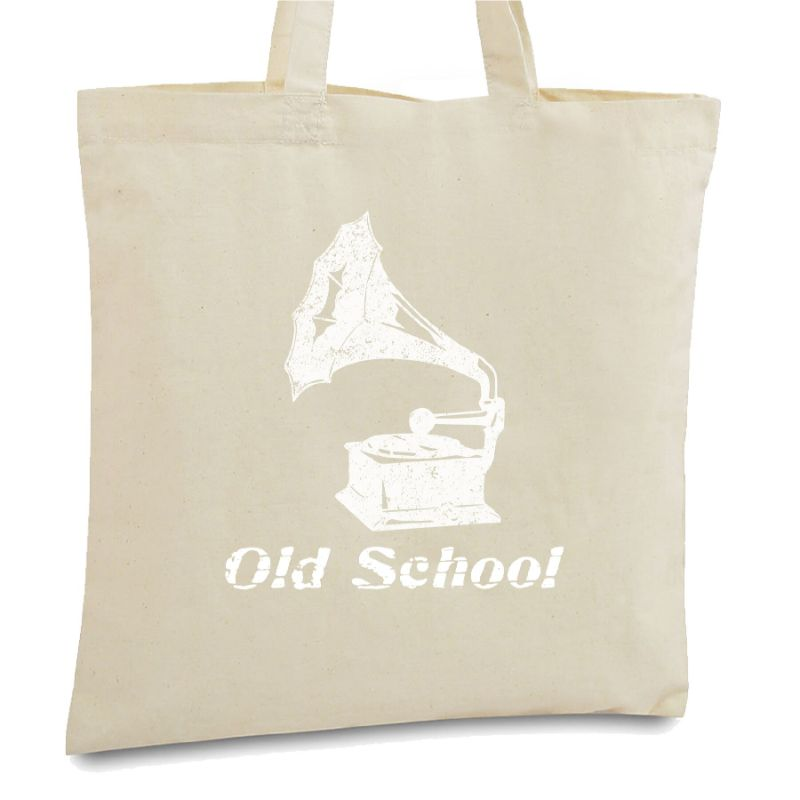 Statement Tote Bags-Old School-Daily Steals
