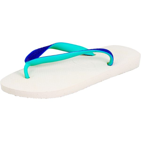 Havaianas H. Top Mix Sandals for Men and Women-White-7 Womens/ 6 Mens-Daily Steals