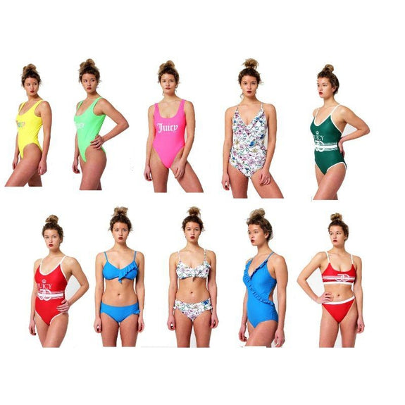 Juicy Couture Women Bathing Suits Mystery Deal-XS-One Piece-Daily Steals