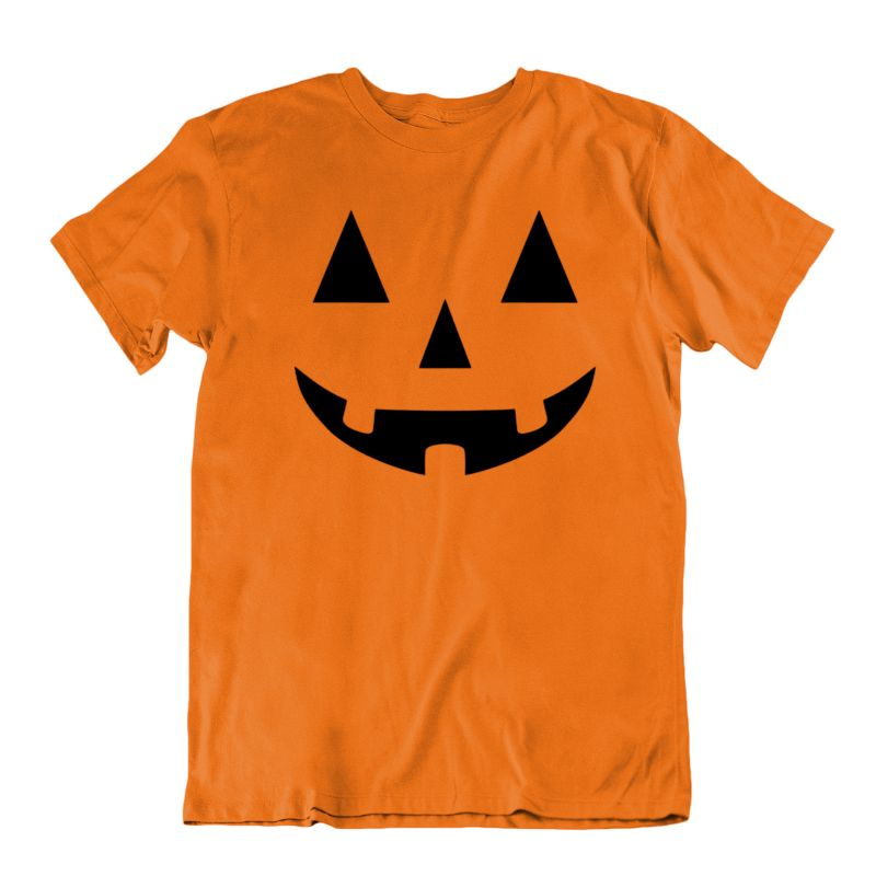 Kids Halloween Pumpkin Jack O Lantern Funny T-Shirt-S-Daily Steals