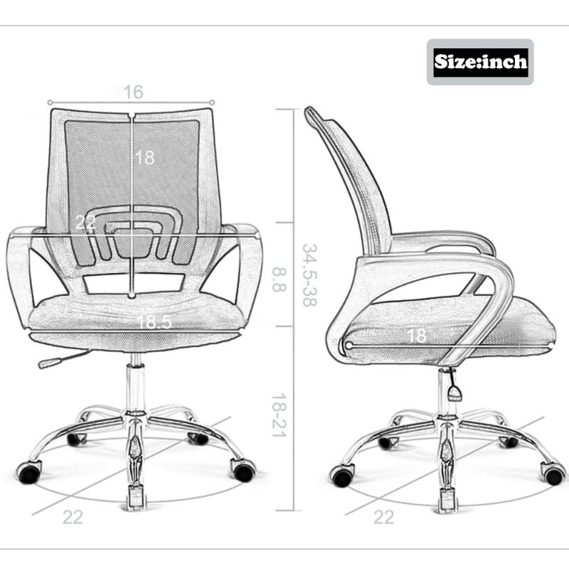 Mesh Ergonomic Office Chair-Daily Steals