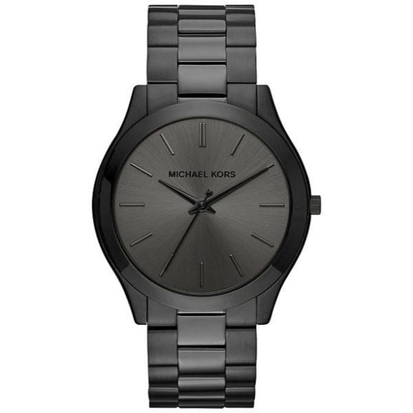 Michael Kors Slim Runway Black Dial Men's Watch-Daily Steals