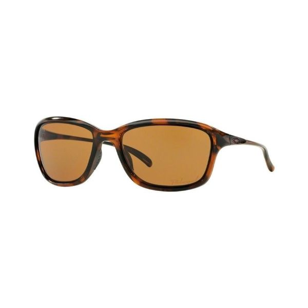 Oakley Sunglasses OO9297-02 She's Unstoppable Tortoise Frame Polarized 57-17-Daily Steals