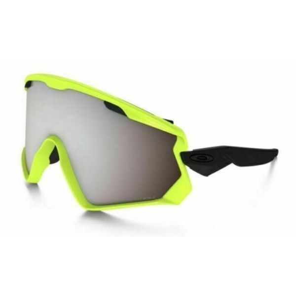 Oakley Wind Jacket 2.0 OO7072-06 Neon Retina/Prizm Snow Black Iridium Sunglasses-Daily Steals