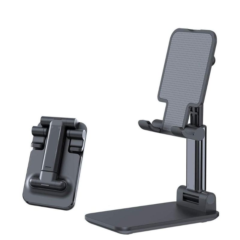 Adjustable Foldable Phone or Tablet Stand Holder - 1 or 2 Pack