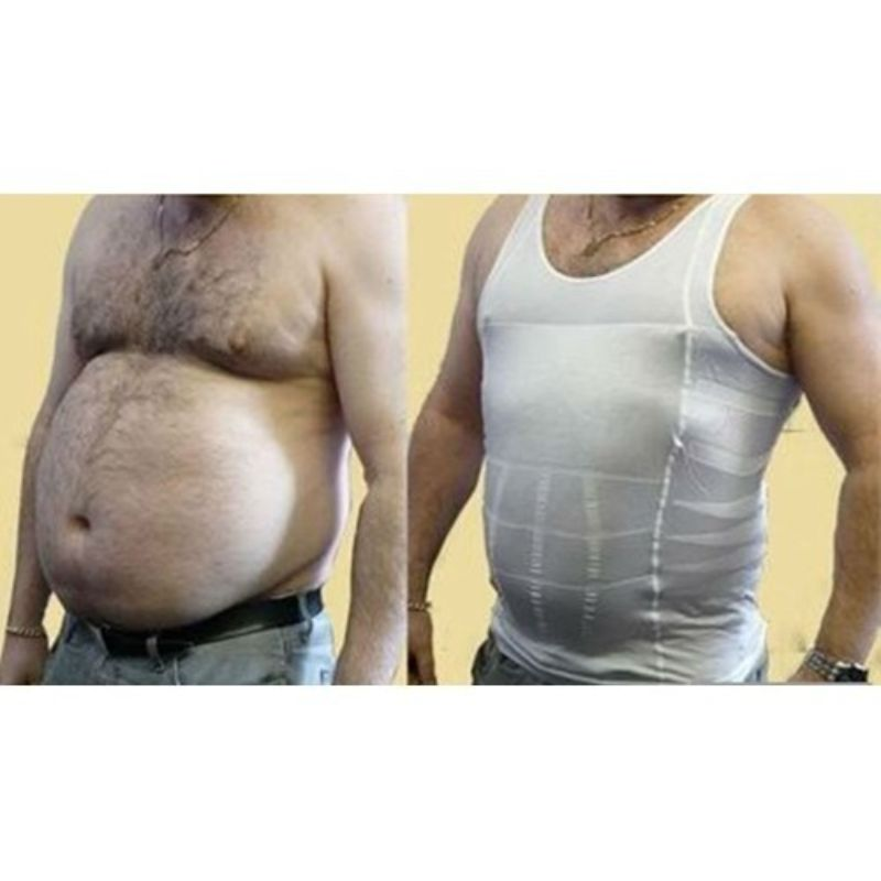 Men's Slimming Body-Support Undershirt
