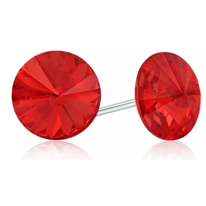 Divine Elegance Round-Cut Studs - Made in U.S.A