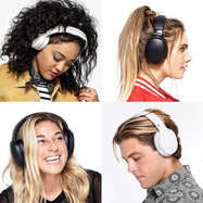 Skullcandy Venue Active Noise Cancelling Headphones, Tile Integration, 24-Hour Battery Life, White/Crimson-Daily Steals