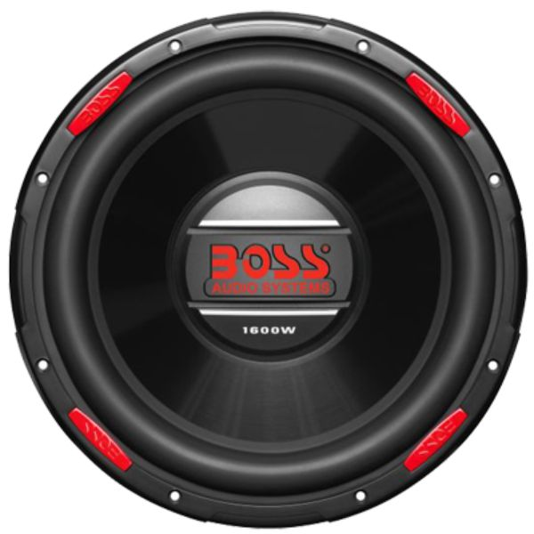 "Subwoofer, 12"", Dual Voice Coil, 1600W By Boss Audio-Daily Steals"