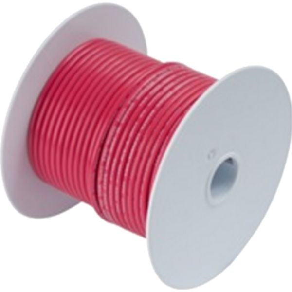Wire, 100' #2 Tinned Copper, Red By Ancor-Daily Steals