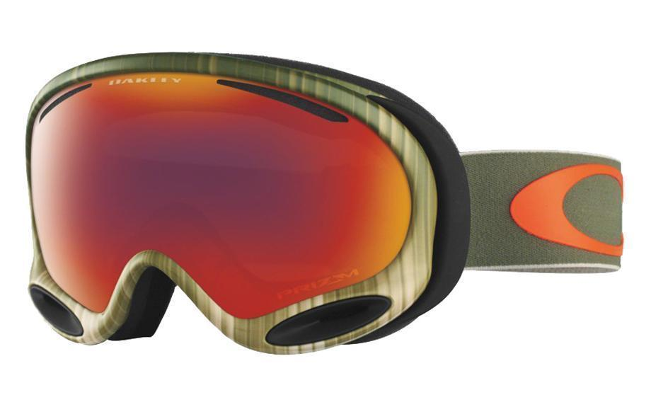 OAKLEY A-FRAME 2.0 SNOW Wet/Dry Olive/Orange w/ Prizm Torch-Daily Steals