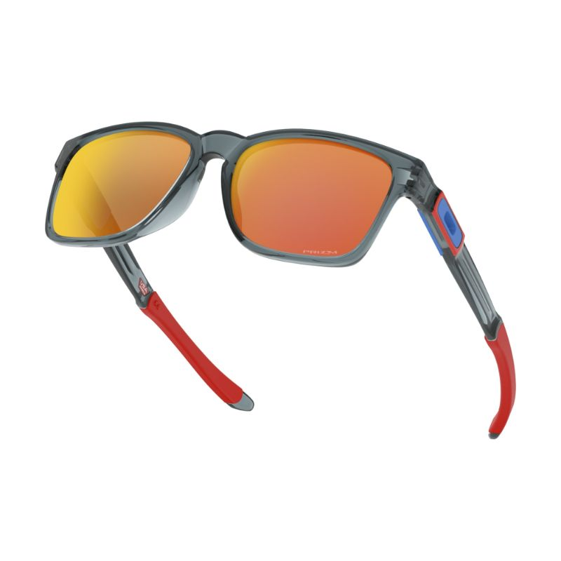 Oakley Catalyst Snapback Sunglasses OO9272-2855 Crystal Black Prizm Ruby-Daily Steals