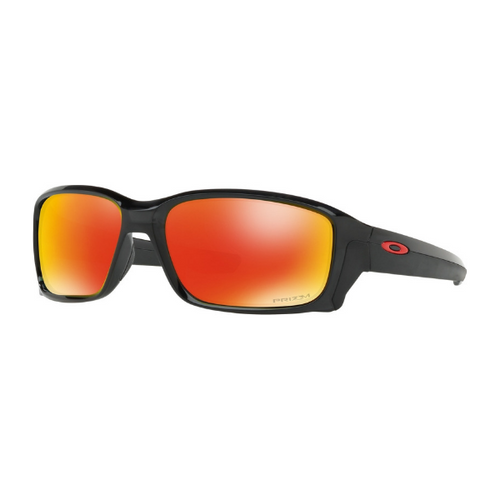 20df4eb4bf Daily Steals-Oakley Men s Sunglasses - Straightlink - Prizm Ruby   Matte  Ink-Sunglasses