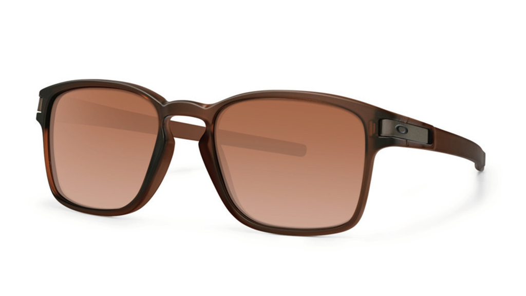Daily Steals-Oakley Sunglasses Latch SQ - Matte Rootbeer Dark Brown Gradient-Accessories-