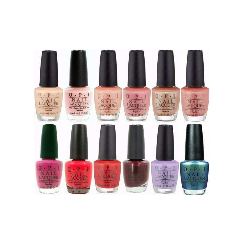 OPI Nail Lacquer Nail Polish - 5 Pack (Assorted Colors)-Daily Steals