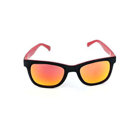 update alt-text with template Daily Steals-Adidas Wayfarer 004/N 009.027 Black Red Mirrored Sunglasses-Sunglasses-