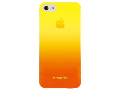 XtremeMac Microshield Fade Case for iPhone SE/5/5s - Yellow Tangerine Orange-Daily Steals