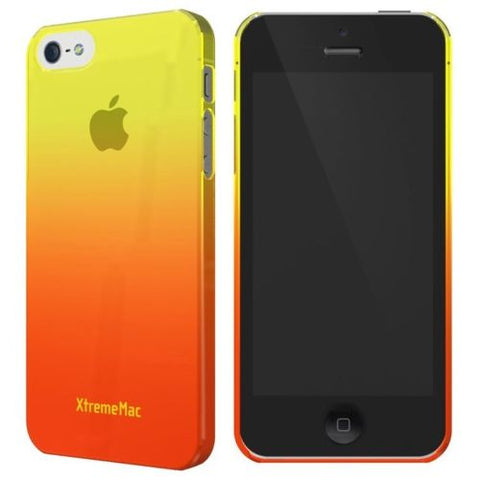 Daily Steals-XtremeMac Microshield Fade Case for iPhone SE/5/5s - Yellow Tangerine Orange-Cell and Tablet Accessories-