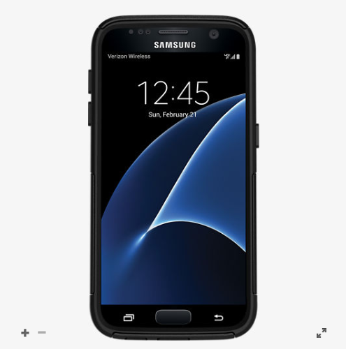 OtterBox Commuter Series for Samsung Galaxy S7 - Black-Daily Steals