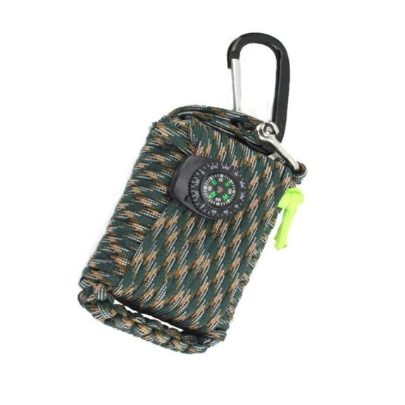 Outdoor Emergency Disaster Survival Kit-Camo-