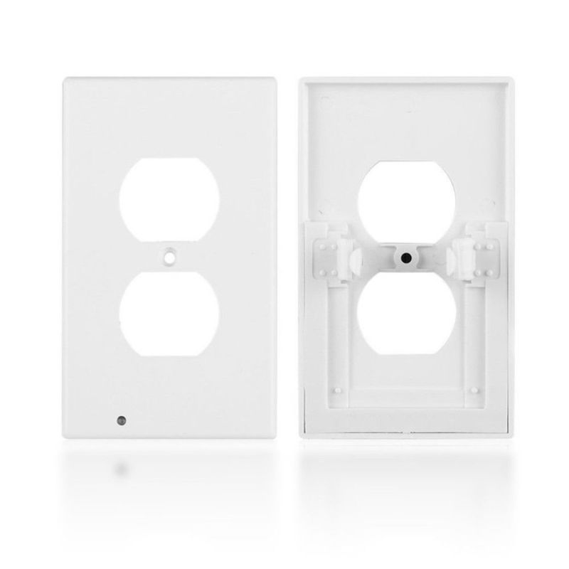 Outlet Cover with Built-In LED Night Light - 5 Pack-Daily Steals