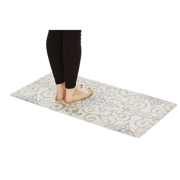Tapis de sol en relief anti-fatigue surdimensionné de 20 po x 39 po