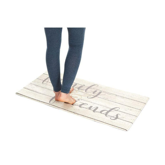 "Oversized 20""x39"" Anti-Fatigue Embossed Floor Mat-Daily Steals"