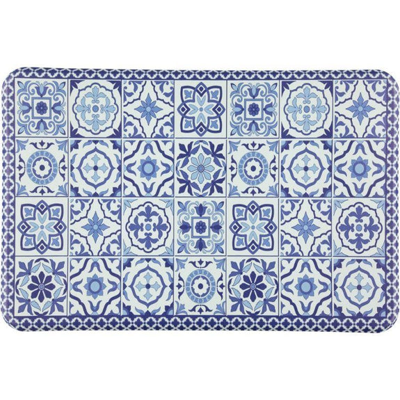 "Oversized Chef Series Anti Fatigue Kitchen Mats-24"" X 36""-52503 BLUE-"