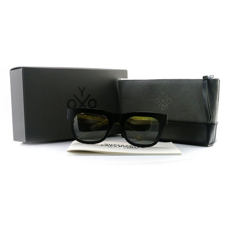 OXYDO Women's Sunglasses OX1087 CE0 Black Crystal 50 22 145