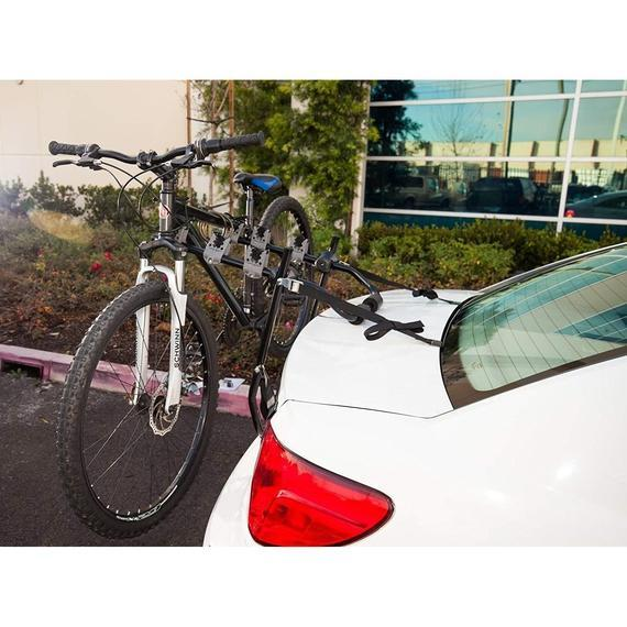 Daily Steals-OxGord Steel Trunk, Mount Bike Carrier, for 2 Bicycles-Car Accessories-