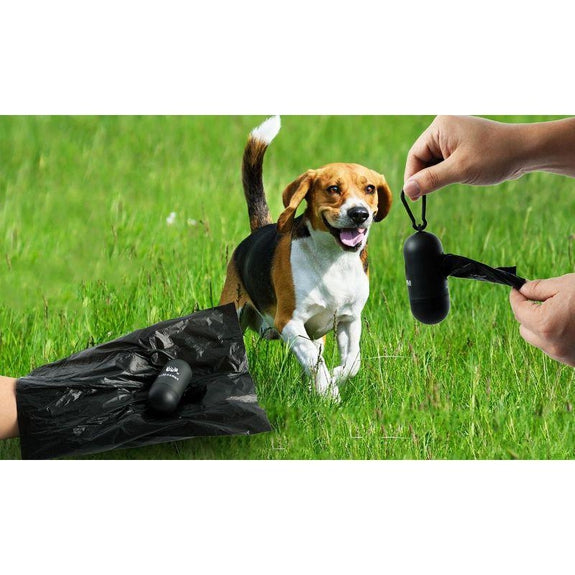 Oxo-Biodegradable Poop Bags for Dogs and Cats with Dispenser-2000 Bags, 2 Poop Bag Dispensers-
