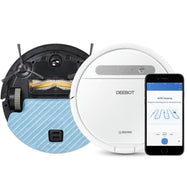 ECOVACS DEEBOT Ozmo 610 Robotic Vacuum and Mop-Daily Steals