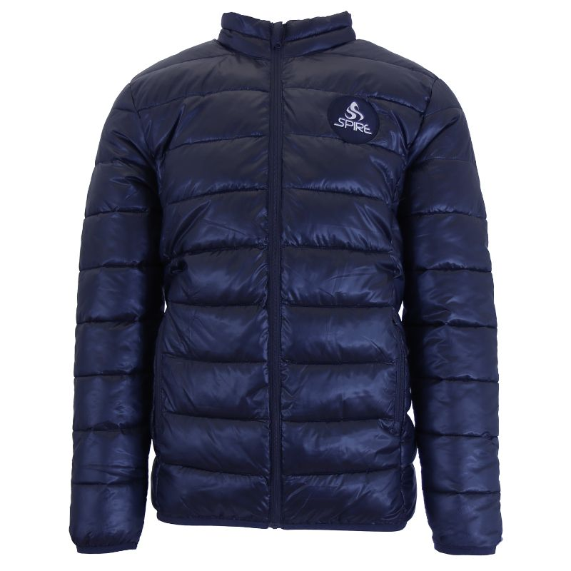 Daily Steals-Men's Lightweight Puffer Bubble Jacket-Men's Apparel-Navy-Small-