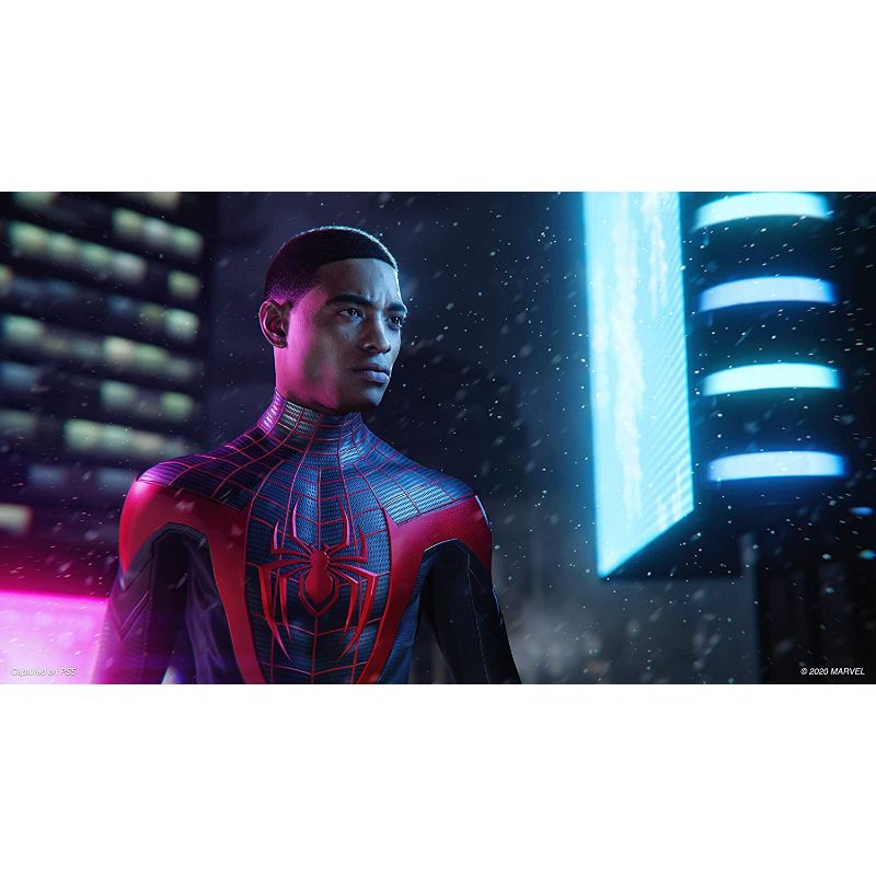 Spider-Man Miles Morales Game for PlayStation 4 or 5 with Optional Ultimate Edition - LATAM