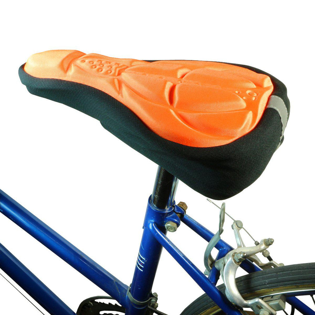 Padded Bicycle Seat-Orange-Daily Steals