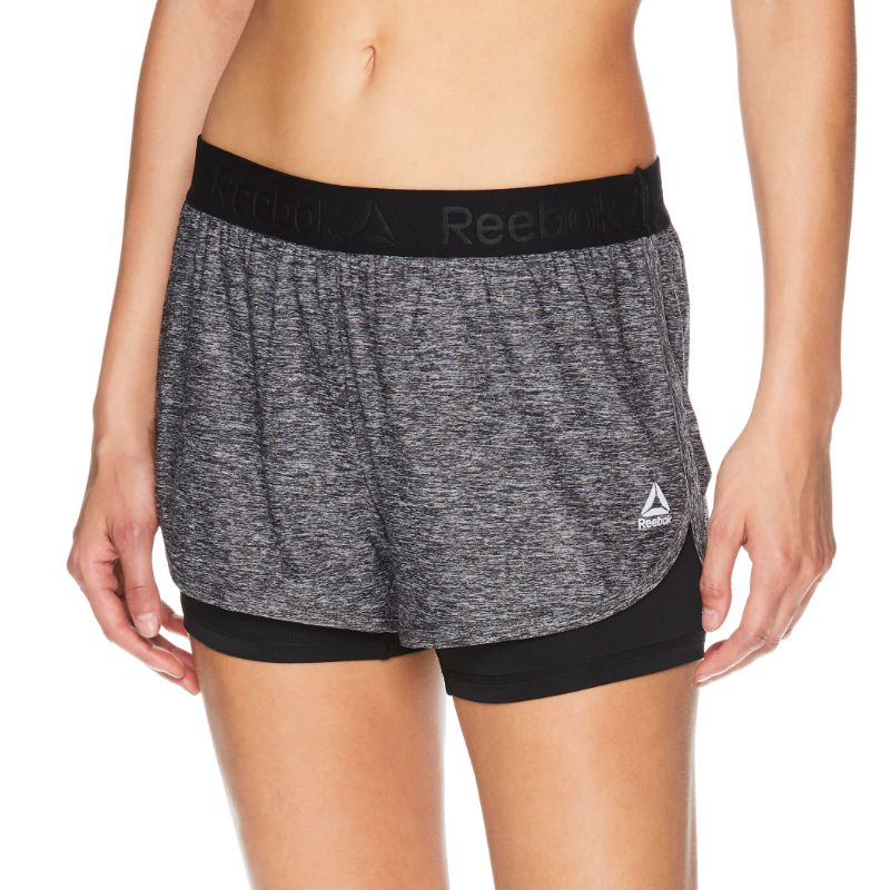 Reebok Short de course pour femme Compression Cardio-XS-Daily Steals