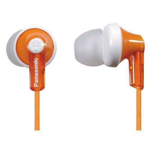 Daily Steals-Panasonic ErgoFit In-Ear Headphones with Ergonomic Comfort-Fit Design-Headphones-Orange-1 pack-